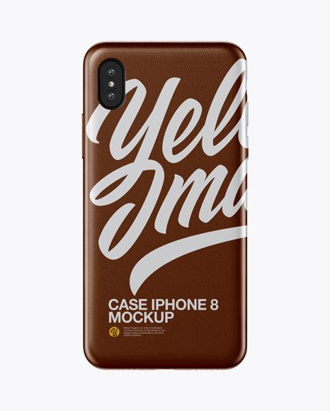 Download Iphone X Leather Case Mockup In Object Mockups On Yellow Images Object Mockups Mockup Free Psd Mockup Mockup Psd PSD Mockup Templates