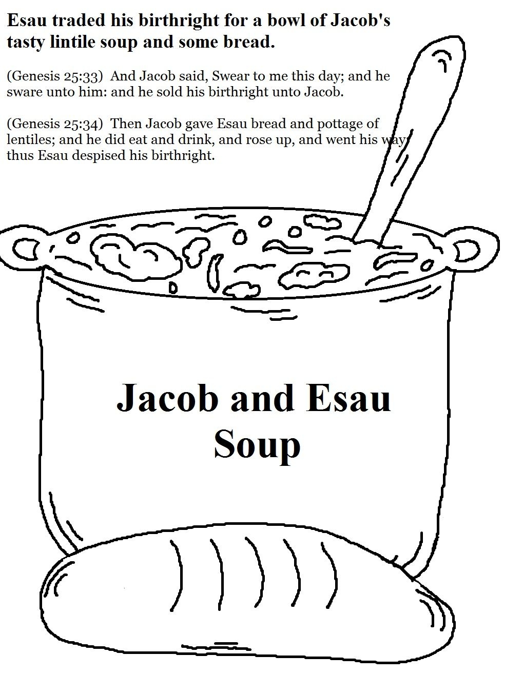 Church House Collection Blog Jacob And Esau Sunday School Stuff