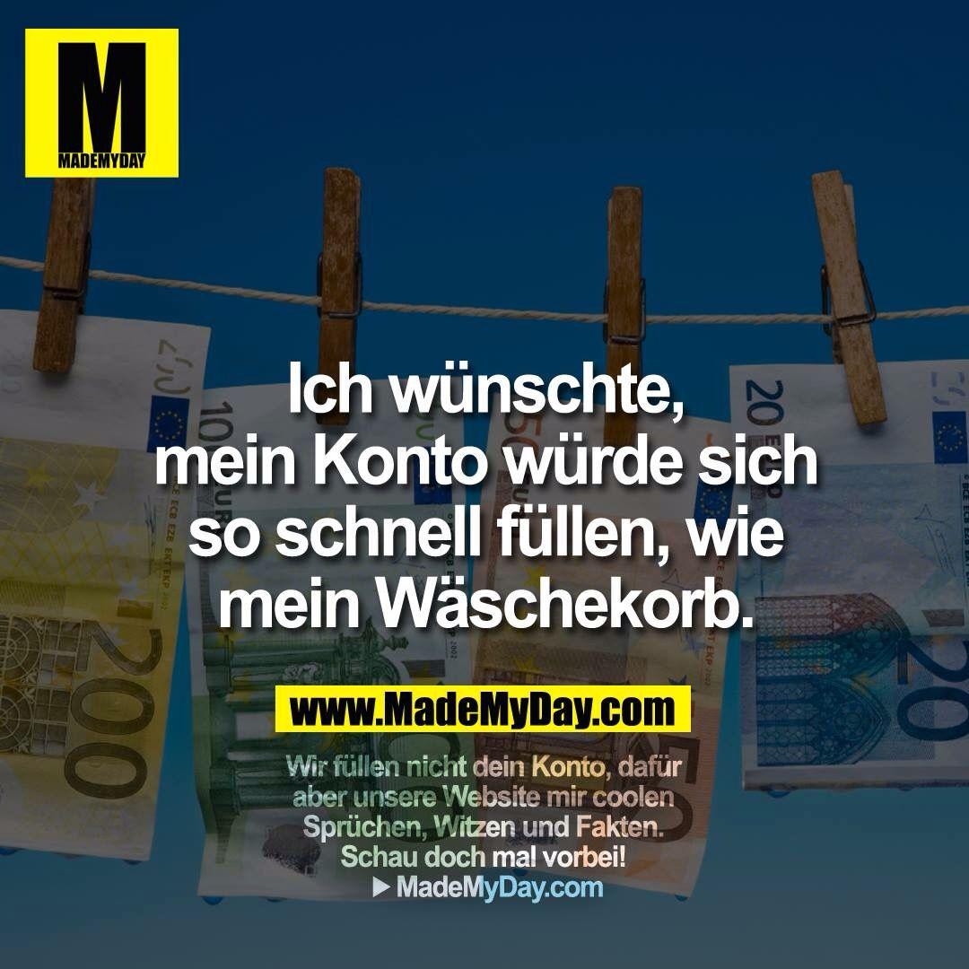 Geld wie Wäsche :-)