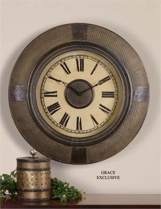 6303002459156ede5082332c986a4cfe - Better Homes And Gardens 28 Wall Clock Oil Rubbed Bronze