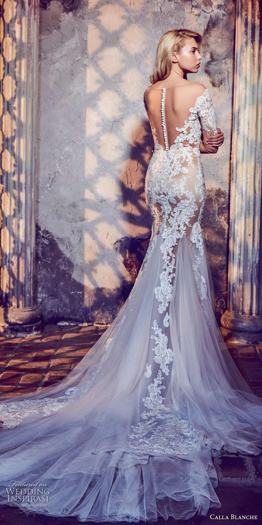 Calla Blanche Fall 2017 Wedding Dresses | Vestido encaje, Novios y ...