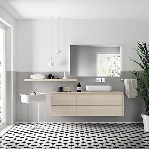 Design by nendo for @scavolini  The concept of this project is - badezimmer container auf rollen