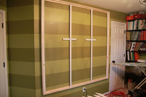 Quilt design wall - could adapt to do a large felt board in the ... : quilting design board - Adamdwight.com