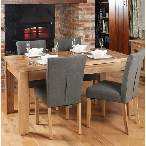 Ebern Designs Deacon Dining Set With 6 Chairs Oak Dining Room