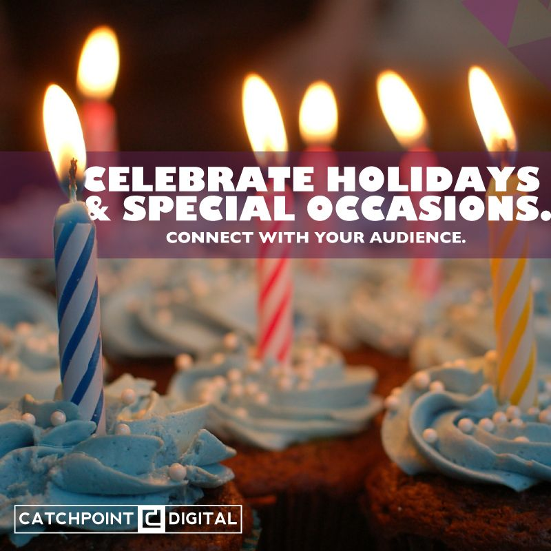 Celebrate success and special times with your audience. It builds a stronger community.