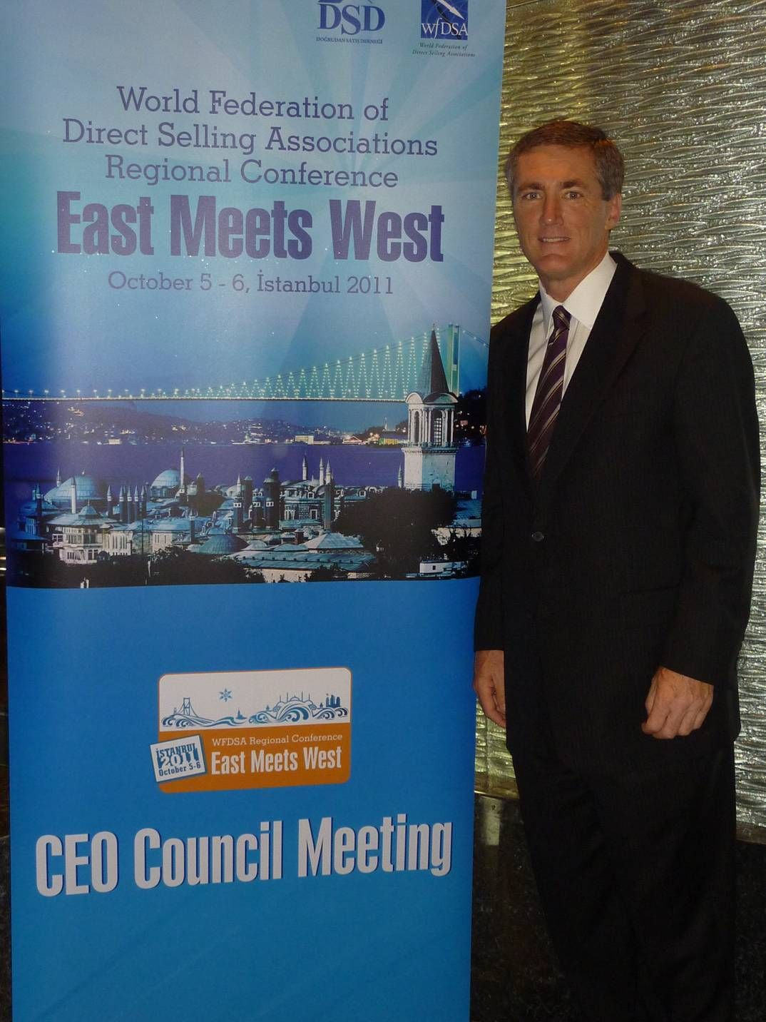 4Life President Attends 2011 WFDSA CEO Council Meeting 10/6/2011