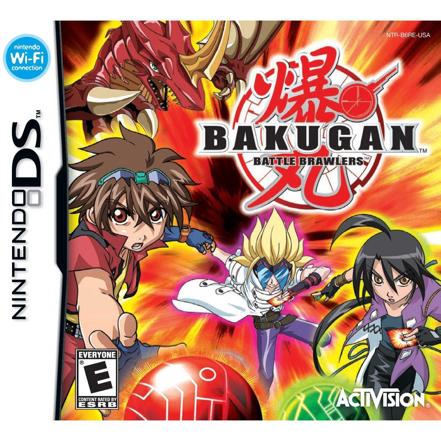 Bakugan Ds Game Bakugan Battle Brawlers Nintendo Ds Ds Games