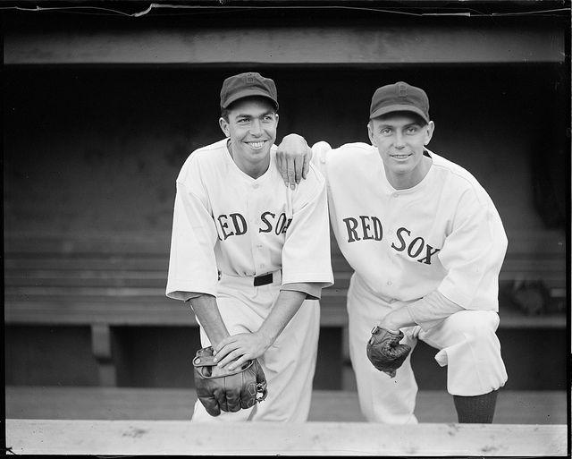 Dalghren And Almada Red Sox Baseball Players Red Sox Boston Red Sox