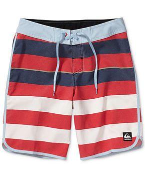 Quiksilver Cypher Brigg Scallop Boardshorts - Swimwear - Men - Macy's
