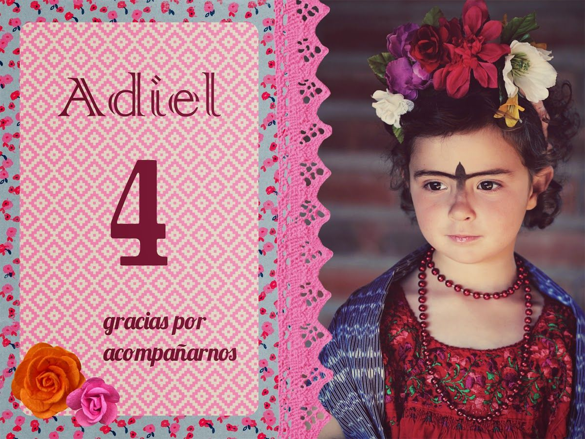 Adiel's Frida Kahlo 4th birthday party
