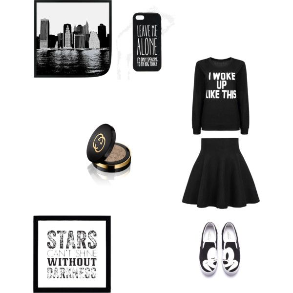 Black <3 by delphine-degraeve on Polyvore featuring mode, ASOS and Gucci