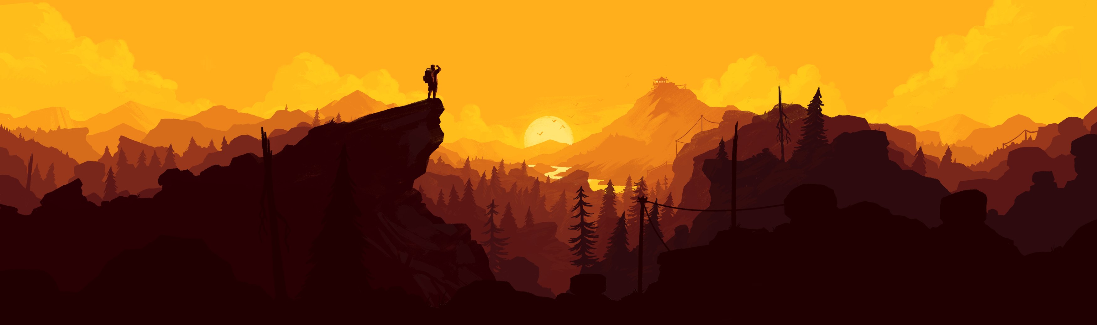 New Firewatch art Top reddit wallpapers Pinterest