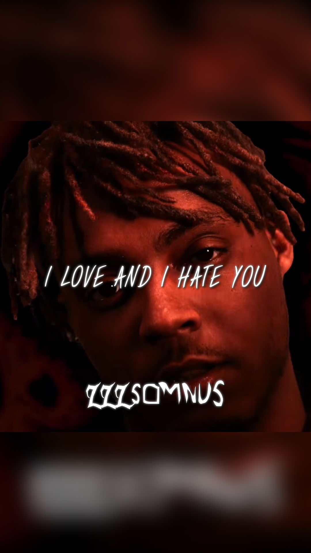 "THE NEW JUICE WRLD   just kidding, but check out my song ""I Love and"