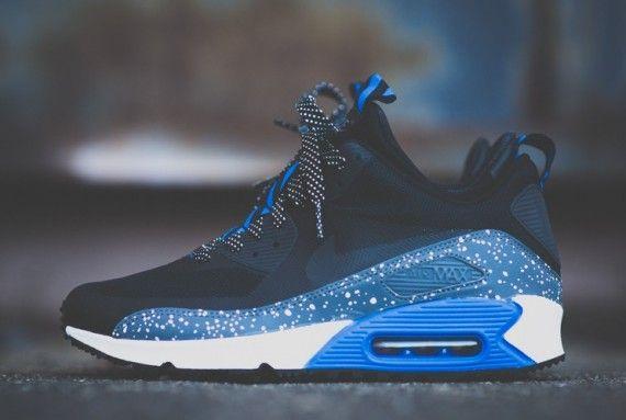 air max sneakerboot blue