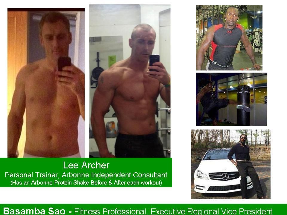 Personal Trainers and Fitness Professionals use Arbonne's