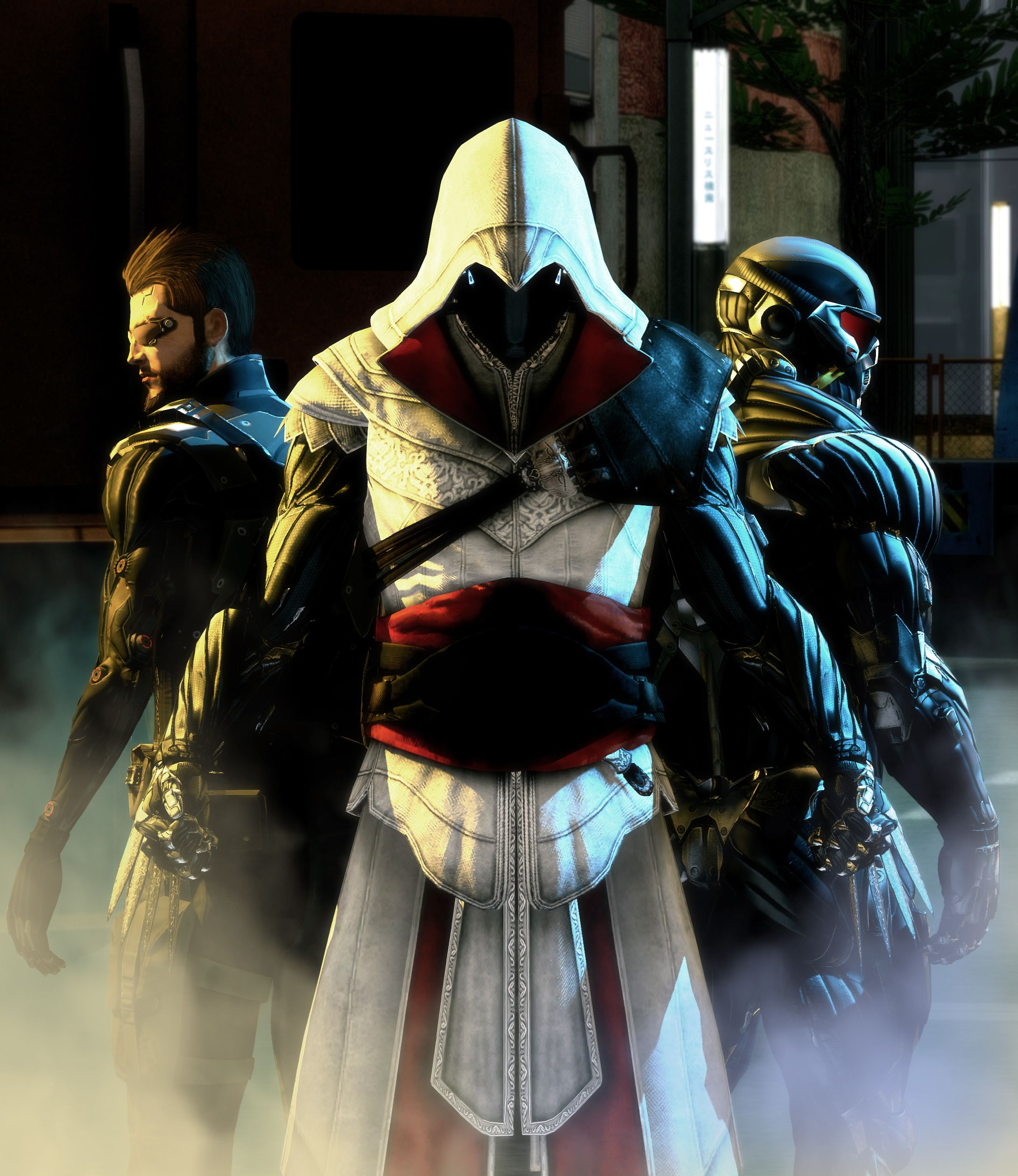 Assassin's Crysis: Human Retribution by lonefirewarrior