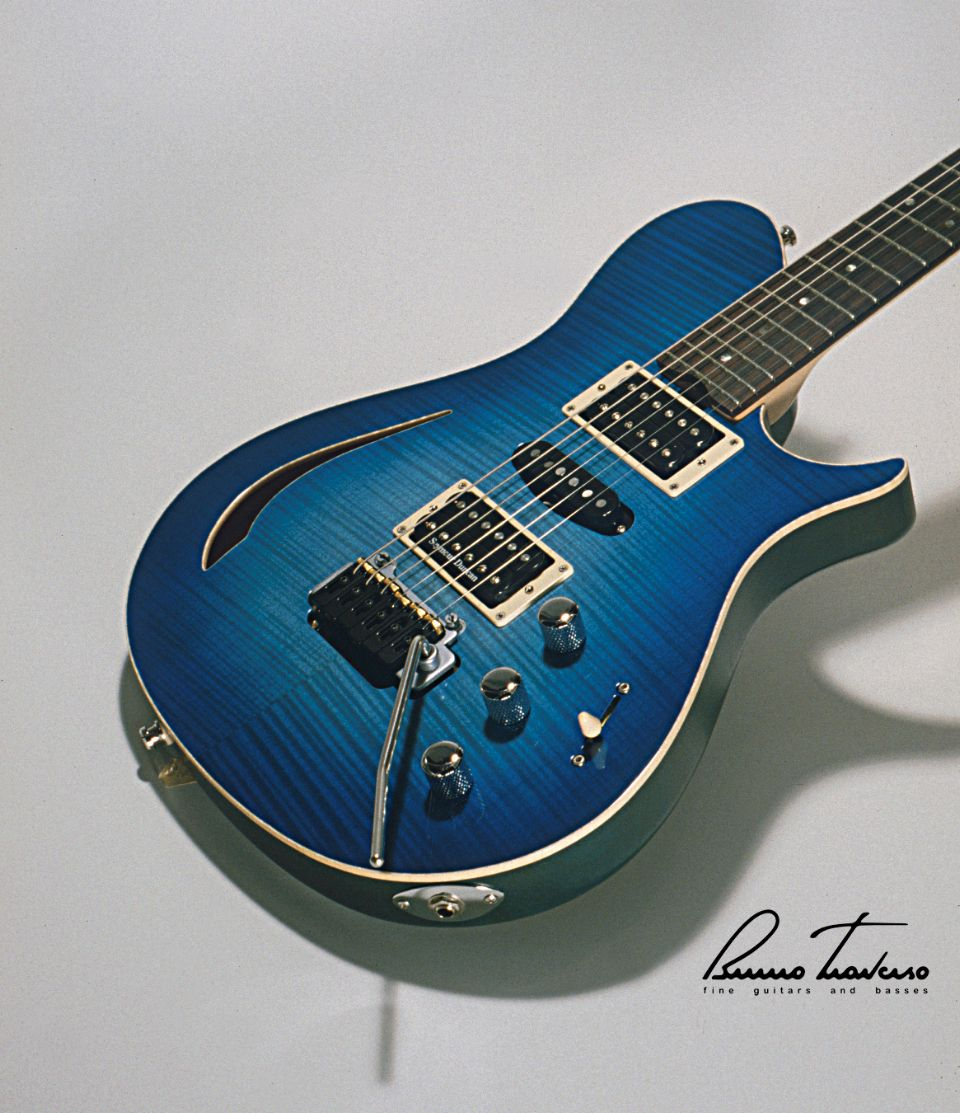 Bruno Traverso Guitars FP Hollow Body