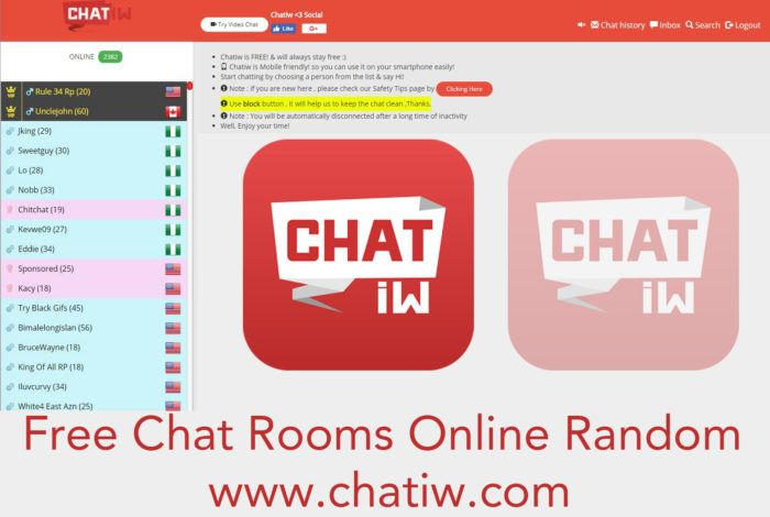 Chatiw - Free Chat Rooms Online Random