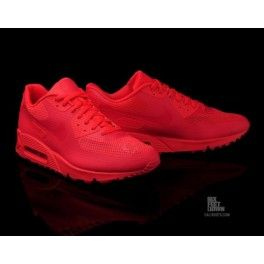 best loved 4c381 b4f9a Nike Air Max 90 Hyperfuse Premium Solar Red - Sports Shoes Online Store