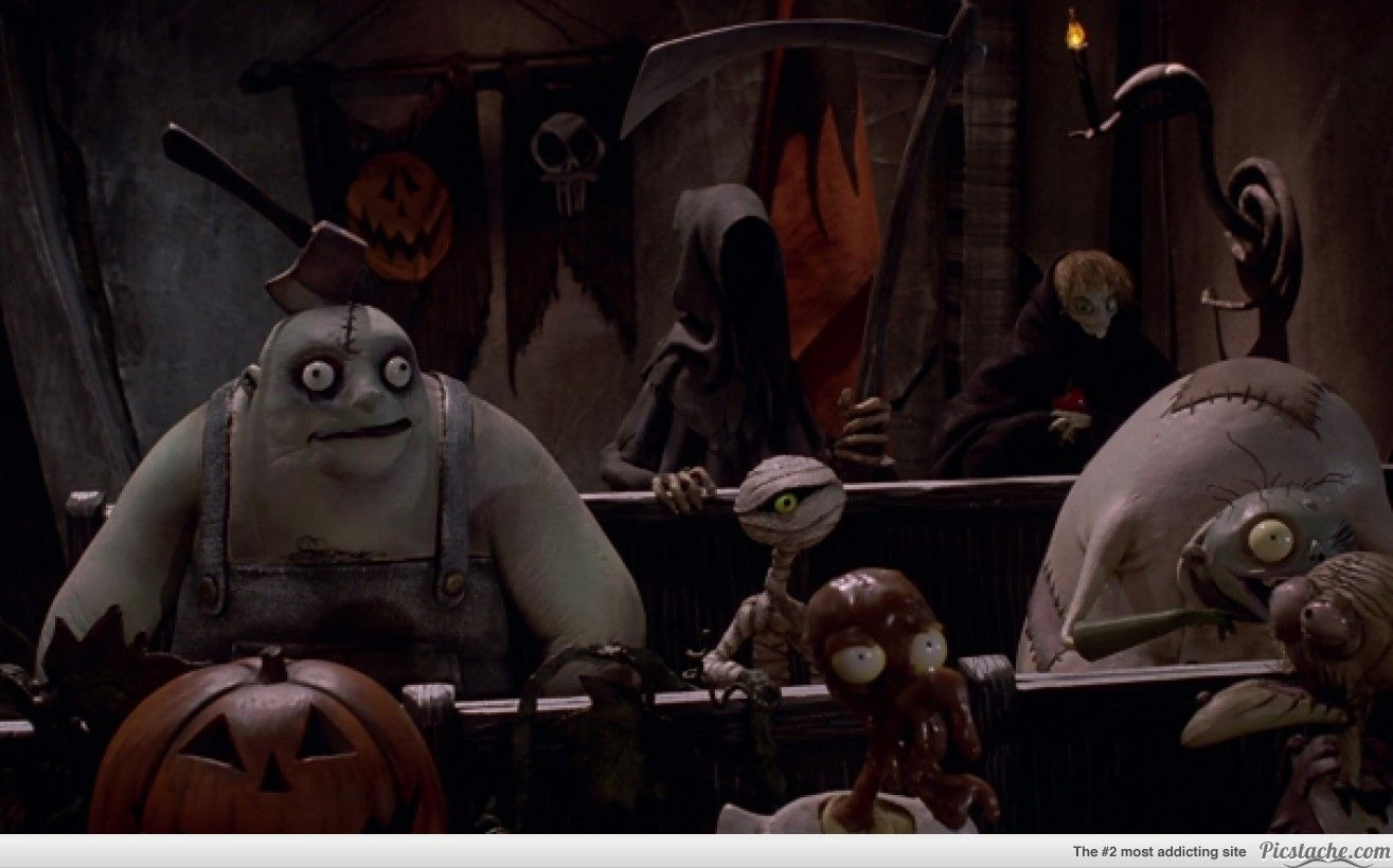 Nightmare Before Christmas - The witch from Snow White appears as a ...