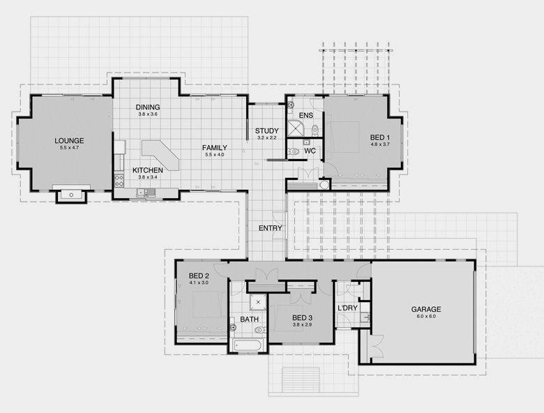 David Reid Homes Pavilion 1 Specifications House Plans