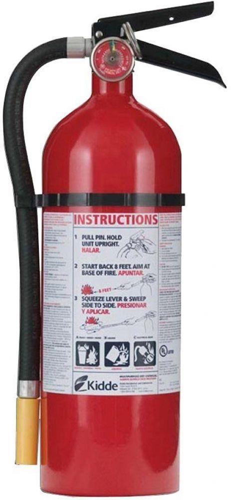 kidde pro 340 commercial residential 3 a 40 b c dry chemical fire rh pinterest com