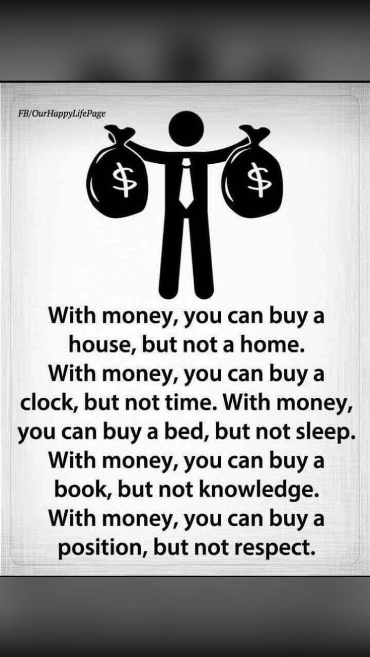 Fact Which Money Cant Buy Quotes I Love