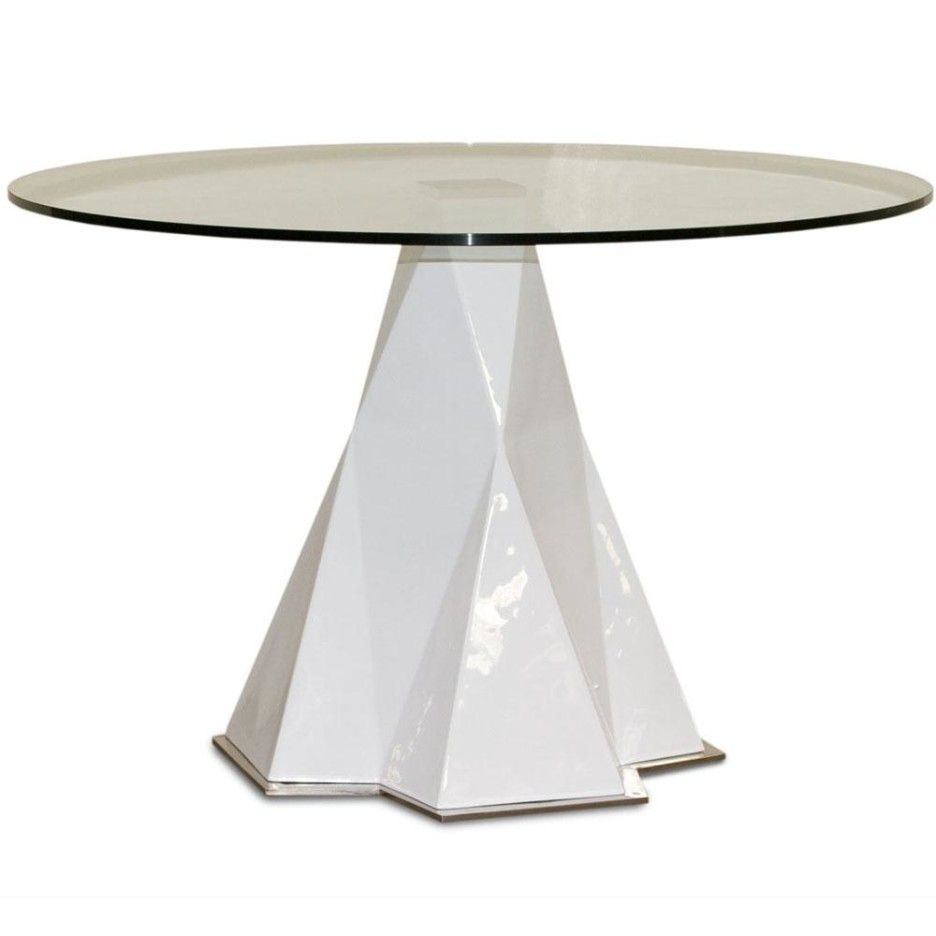 White Round Pedestal Dining Table dining room tables pedestal base with classic design : modern
