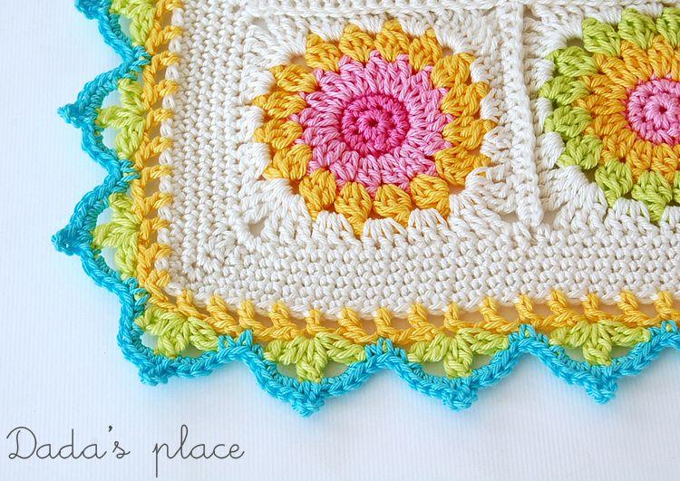 Patron del borde   Yarn yarn yarn!!!!!!!   Pinterest   Bordes de ...