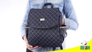 1e1c78d4d Como fazer uma mochila maternidade,para carregar coisas de bebê | Cantinho  do Video