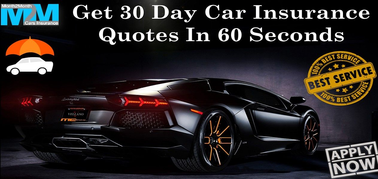 30 Days Car Insurance Full Coverage For Young Teenagers Online