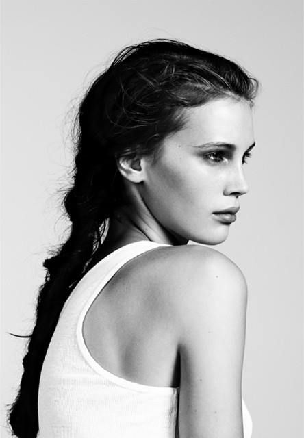 Model and Actress Marine Vacth / photograph by melanie lyon-ramonescobosa
