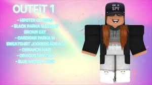 Aesthetic Girl Outfits Roblox