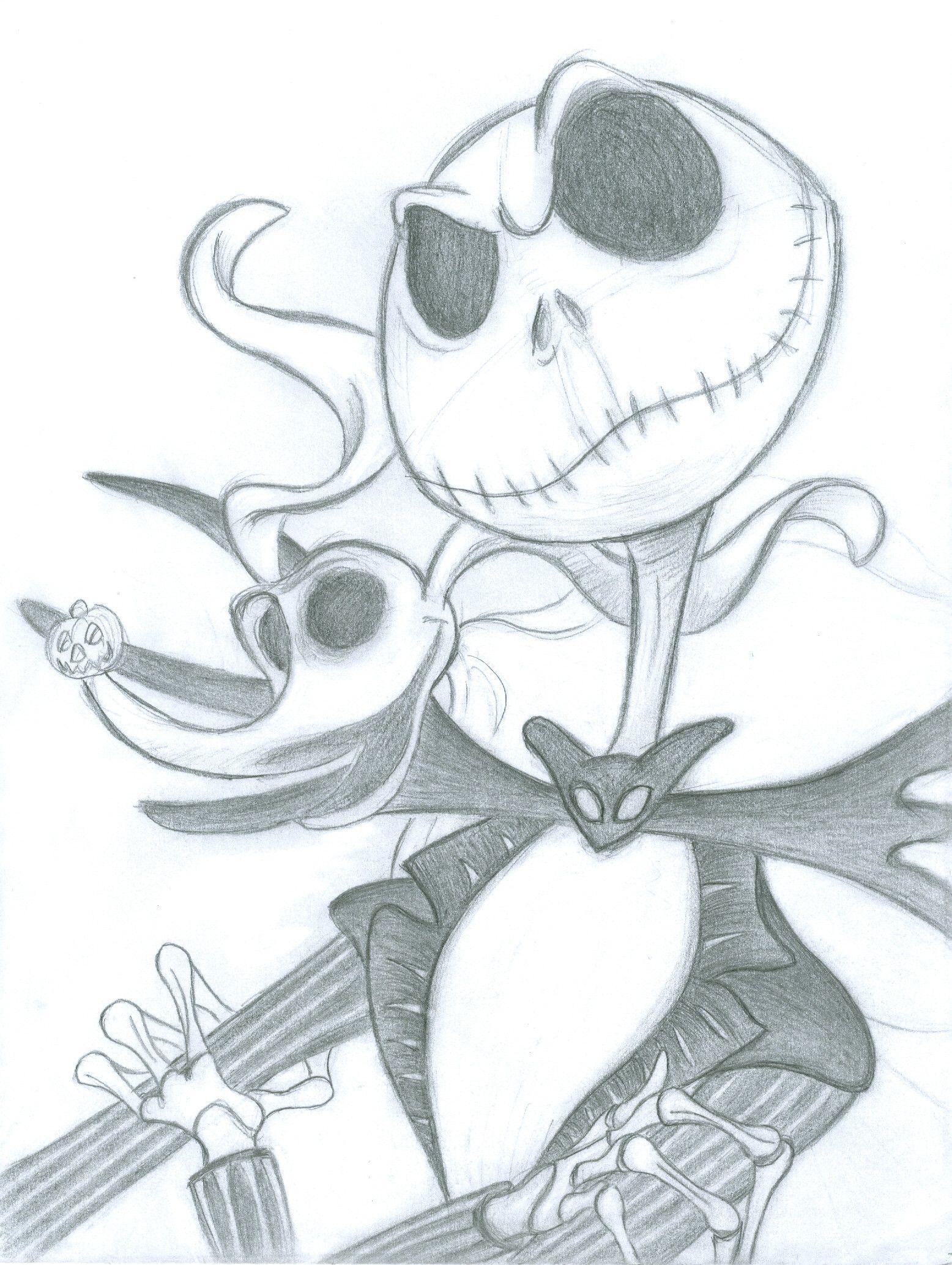 Jack And Zero By Witchgirlviolet Jpg 1556 2068 Nightmare
