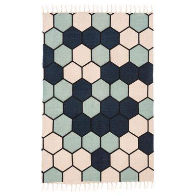 Dywan Bawelniany Delia Niebieski 60 X 90 Cm Inspire Dywany Wewnetrzne W Atrakcyjnej Cenie W Sklepach Leroy Merlin Carpet Rugs Home Decor