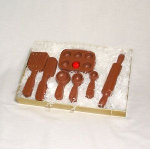 Solid Chocolate Baker Set (7 pieces)