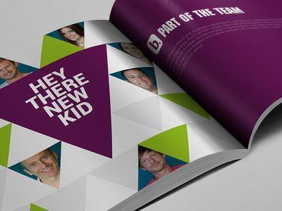 Image result for employee handbook design Employer Brand