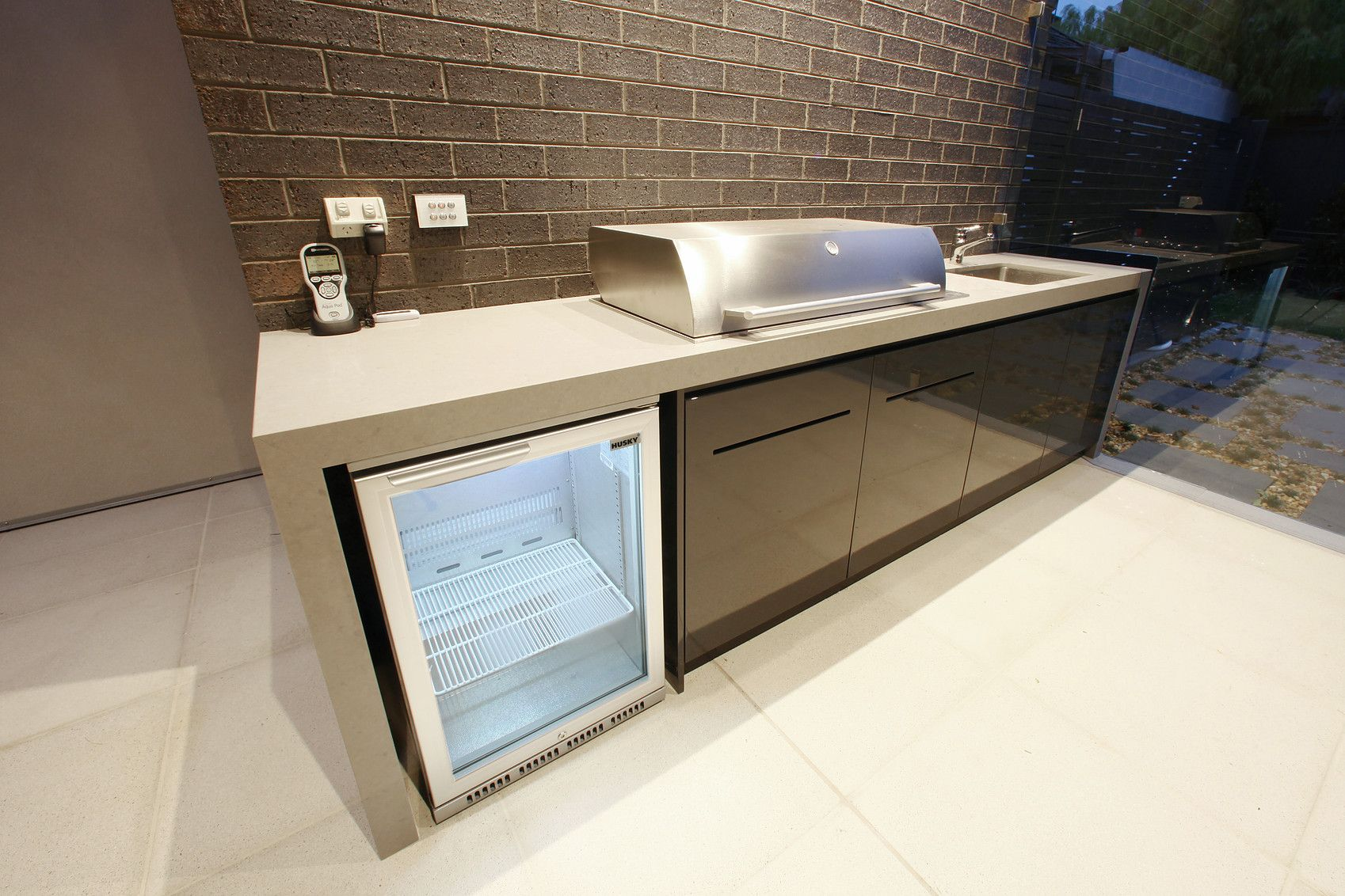 Outdoor Waterproof Alfresco Kitchens, Outdoor BBQ areas, waterproof ...