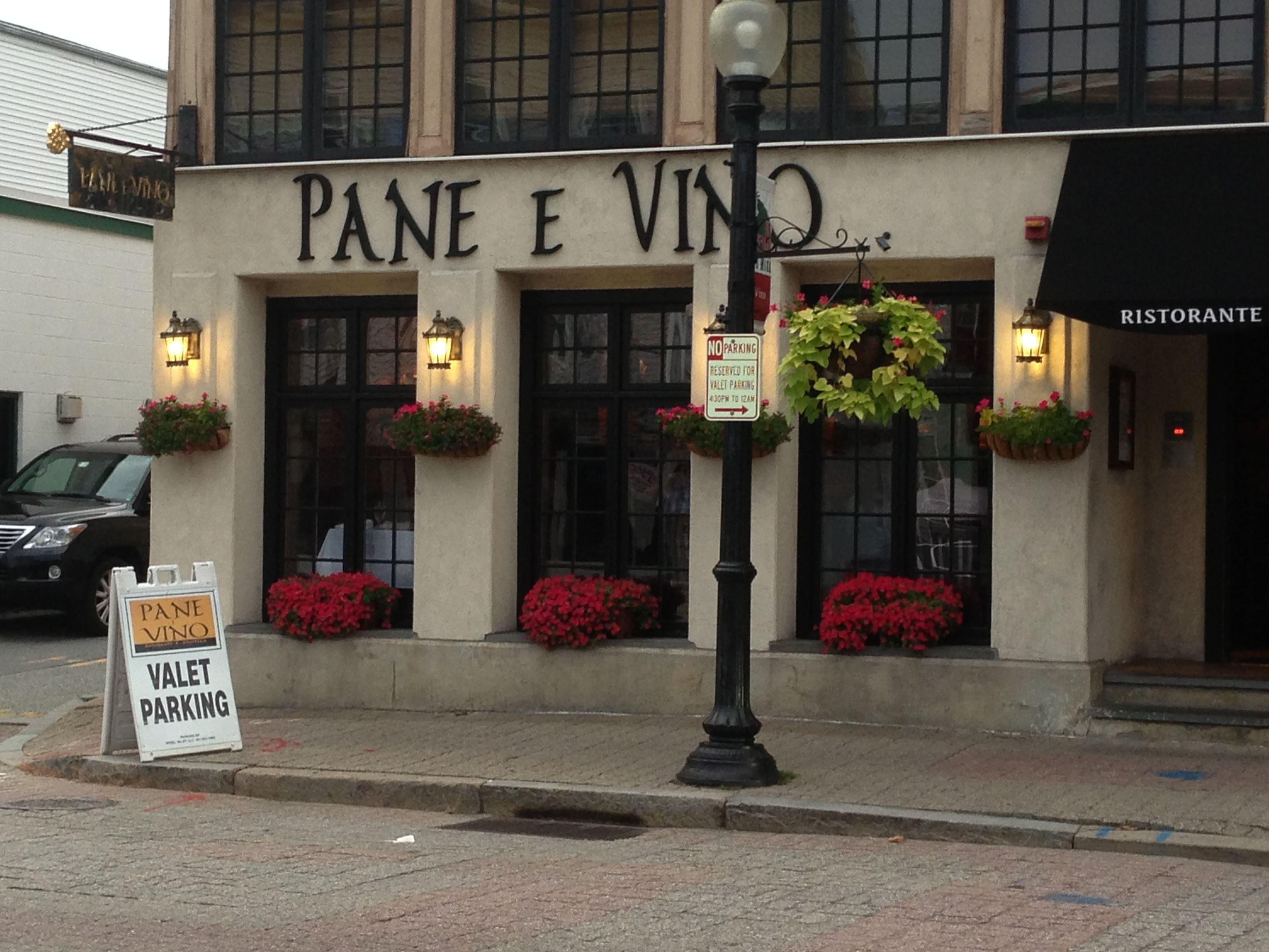 Pane E Vino On Federal Hill In Providence R