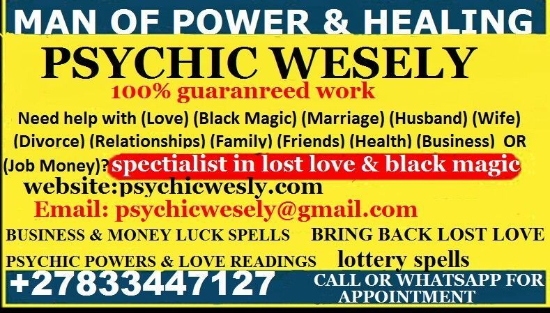 MONEY VOODOO SPELLs #moneyspells MONEY VOODOO SPELLS Money spells voodoo to attract money, win money & become wealthy. Voodoo money spells for financial success & end your money problems  Increase your odds of success & prosperity in life by aligning your destiny for wealth using voodoo money spells  Contact  whatssapp or call +27833447127/Psychicwesely@gmail.com for voodoo money spells to help #moneyspells MONEY VOODOO SPELLs #moneyspells MONEY VOODOO SPELLS Money spells voodoo to attract money #moneyspells