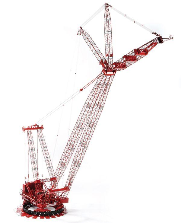 Dmb Models Mammoet Scale Models Crane Lego Crane