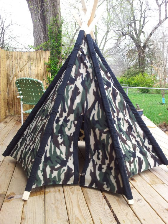 Children's Teepee/tent by WanderingArtCreation on Etsy, $70.00
