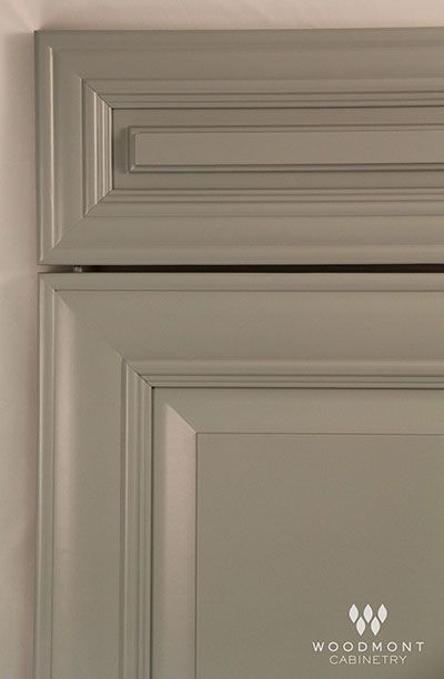 Woodmont Cabinets In Versailles Maple Dove Grey Raised Panel 5