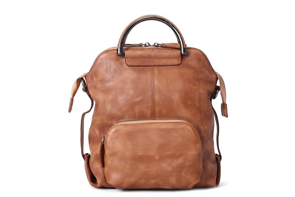 5db5d29d19 Genuine Leather Hand Bag Backpack for Women Casual Leather Backpack We use genuine  cow leather