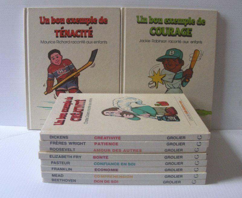 Les livres de la série « Un bon exemple de » de Grolier
