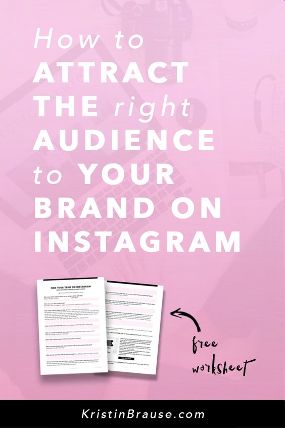 How to attract the right audience to your #brand on #Instagram #brandmarketing http://dld.bz/fWpQq