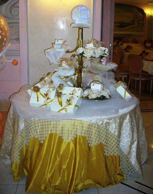 Addobbo tavolo bomboniere prima comunione pinterest - Tavolo per prima comunione ...