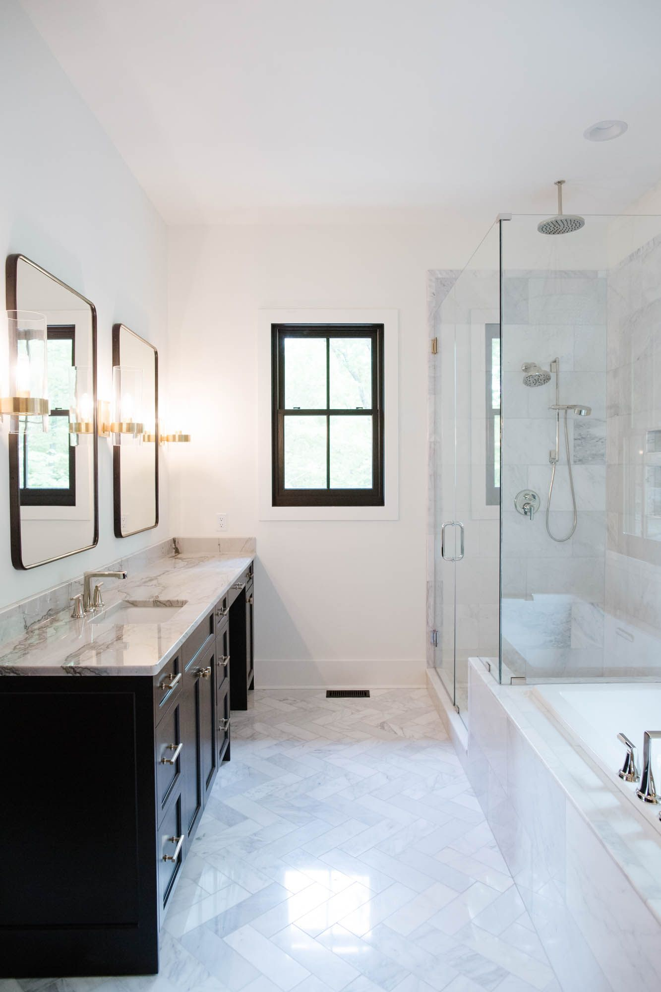 Cooper At Home Our Tile Selections Cristin Cooper White Marble Bathrooms Residential Tile White Marble Floor