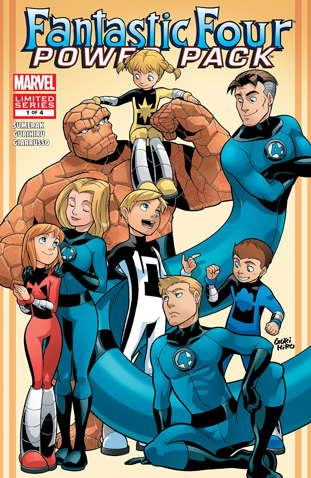 Fantastic Four And Power Pack 2007 1 Of 4 Comics By Comixology Fantastic Four Marvel Comics Art Comics