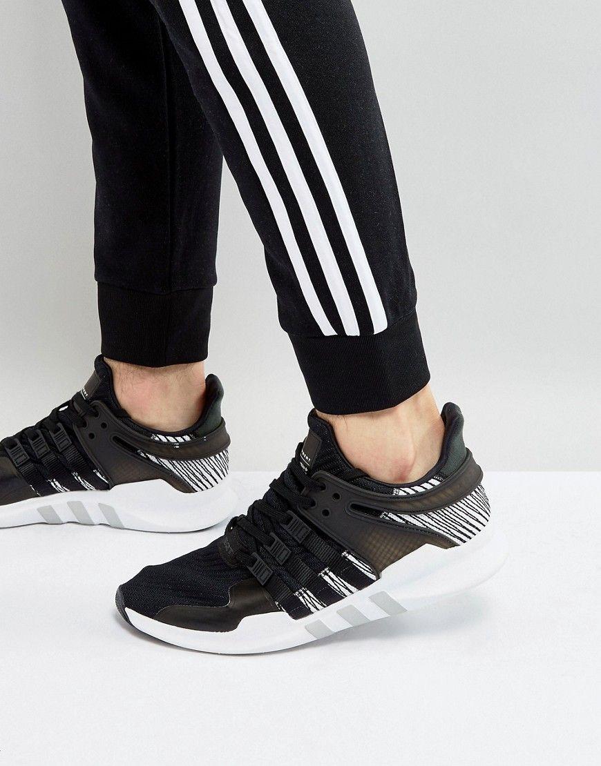 984d000491cbad ADIDAS ORIGINALS EQT SUPPORT ADV SNEAKERS IN BLACK BY9585 - BLACK.   adidasoriginals  shoes